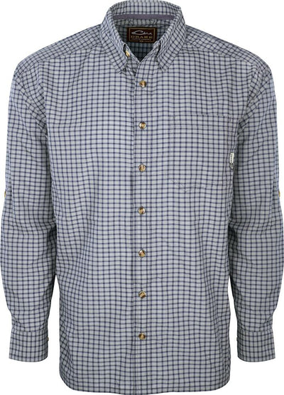 Drake FeatherLite Check Shirt L/S
