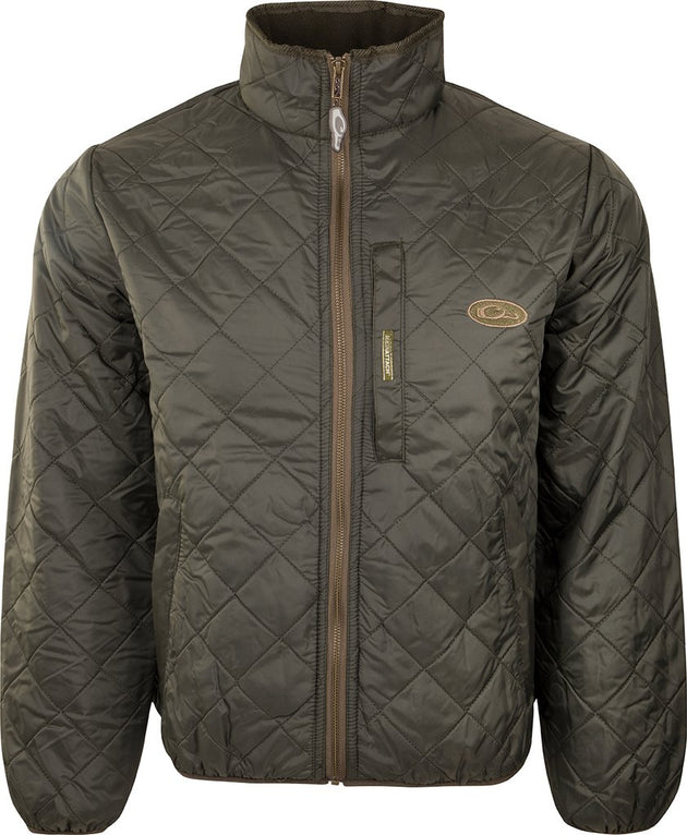 Drake Delta Fleece-Lined Quilted Jacket