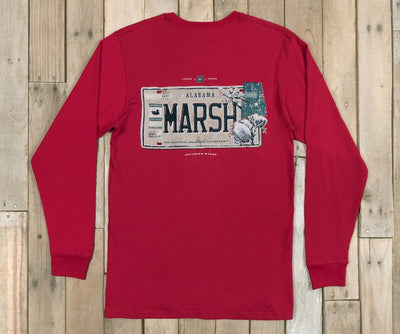 Southern Marsh Backroads Collection Tee Alabama