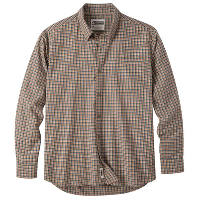 Mountain Khaki Men's Spalding Gingham Long Sleeve Shirt