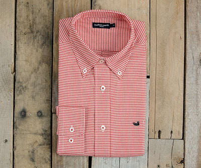 Southern Marsh Houndstooth Dress Shirt