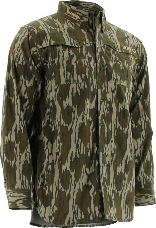 Nomad NWTF Woven Button Down Shirt