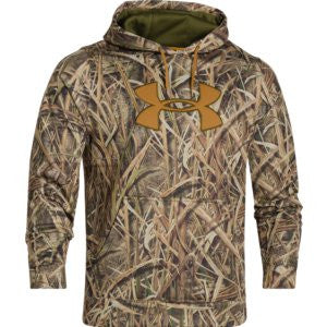 Men's Armour® Fleece Camo Hoodie