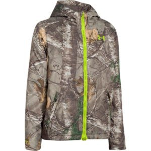 Boys' UA Storm Scent Control Barrier Jacket