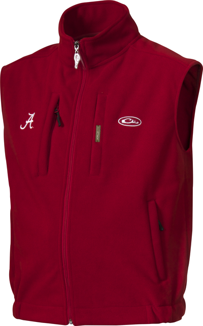 Drake Alabama Windproof Fleece Vest
