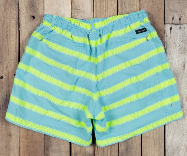 Southern Marsh Dockside Swim Trunk - Cruiser Stripe
