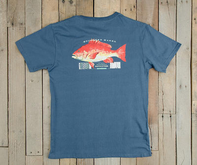 Southern Marsh Snapper Tee