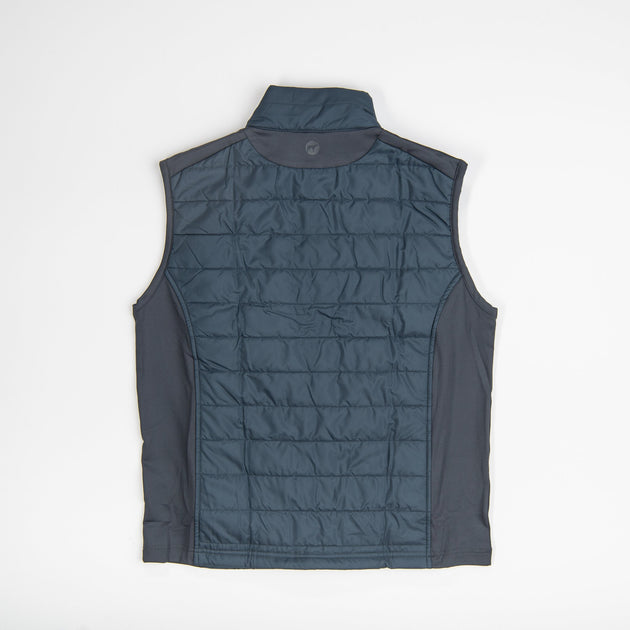 Southern Point Grey Quilted Vest