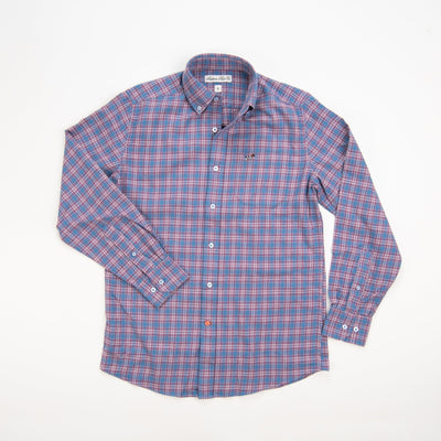 Southern Point Brushed Hadley Shirt Fushsia