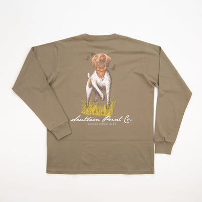 Southern Point Silhouette Pointer Tee