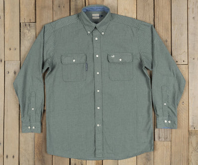 Southern Marsh Leeward Textured Grid Shirt