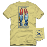 Over Under Summer Blues T-Shirt Yellow