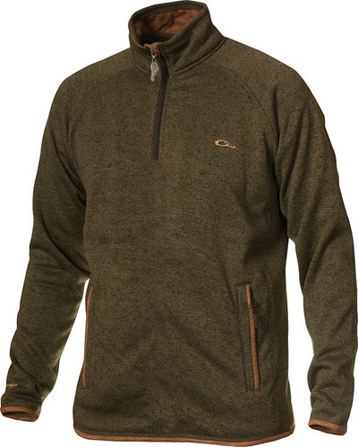 Drake Heritage Knitted Fleece Quarter-Zip