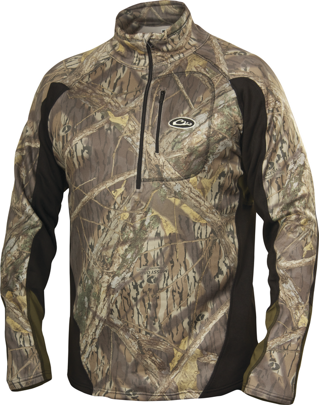 Drake Tri-Tec Performance Base Layer Quarter-Zip