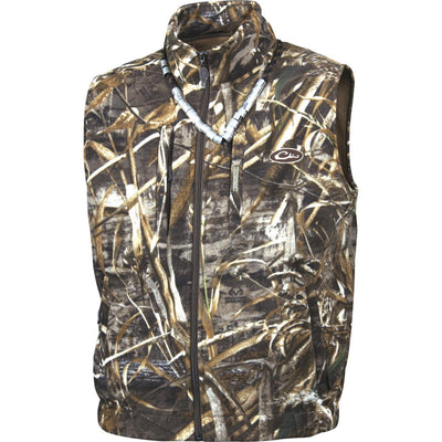 Drake Windproof Fleece Layering Vest