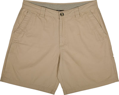 Drake Washed Cotton Canvas Shorts