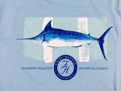 Fish Hippie Marlin T-Shirt