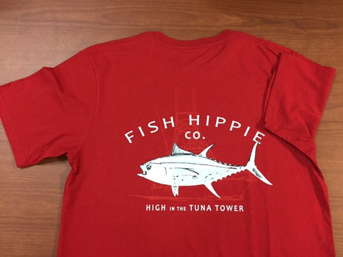 Fish Hippie Tuna Tower Tee