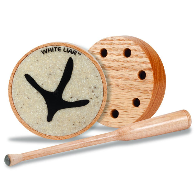 Knight & Hale White Liar (Wooden) Turkey Friction Call