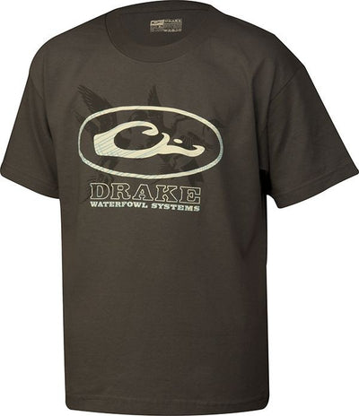 Drake Youth Oval Ducks Logo T-Shirt