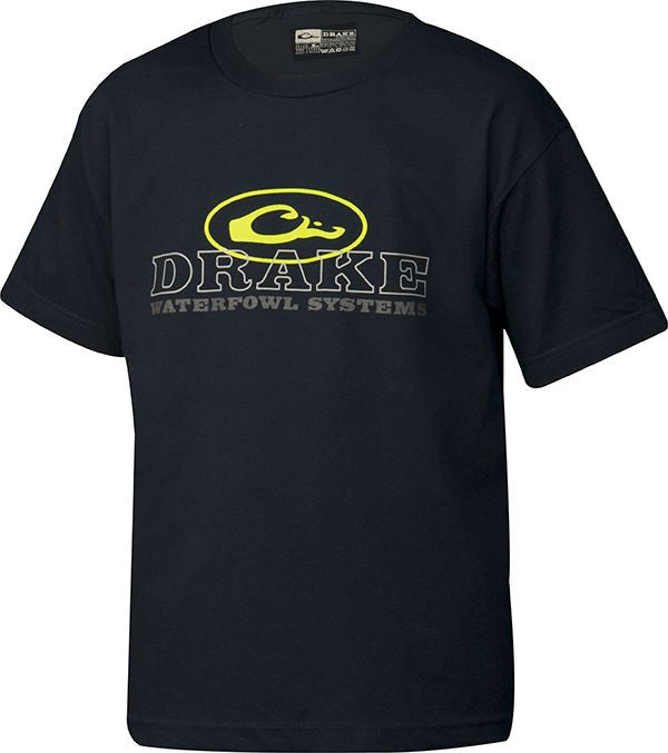 Drake Youth Oval Logo T-Shirt