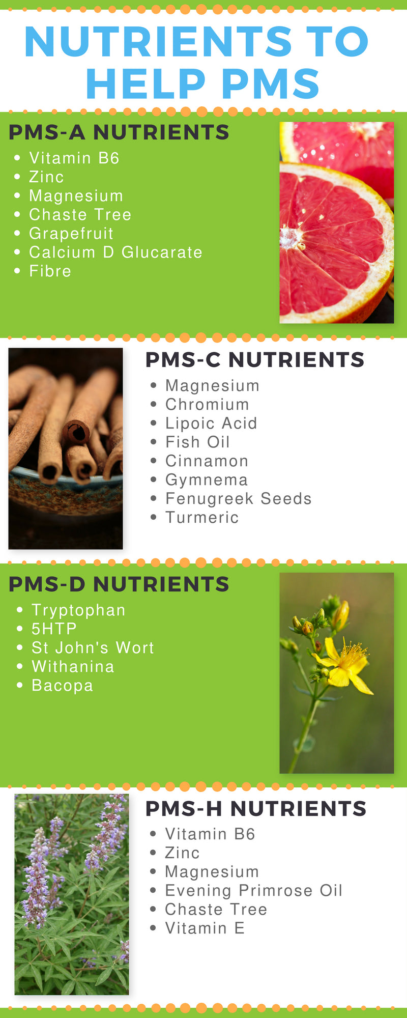 Nutrients to Help PMS