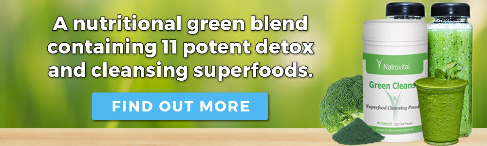 NatroVital Green Cleanse Promotional Banner