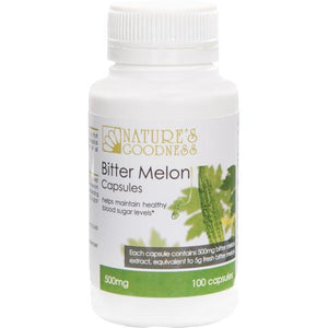 Nature's Goodness Bitter Melon | Vitality and Wellness Centre