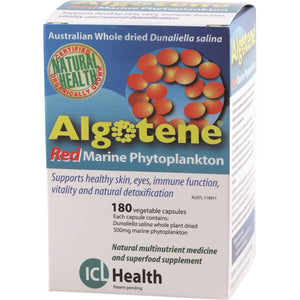 ICL Health Algotene 180 Capsules | Vitality and Wellness Centre