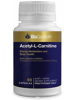 BioCeuticals Acetyl-L-Carnitine | Vitality And Wellness Centre