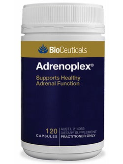 BioCeuticals Adrenoplex 120 Capsules | Vitality and Wellness Centre