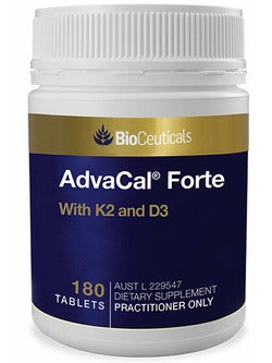 BioCeuticals AdvaCal Forte 180 Tablets | Vitality and Wellness Centre