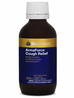 BioCeuticals ArmaForce Cough Relief | Vitality and Wellness Centre