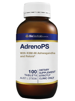 BioCeuticals AdrenoPS 100 Tablets | Vitality and Wellness Centre