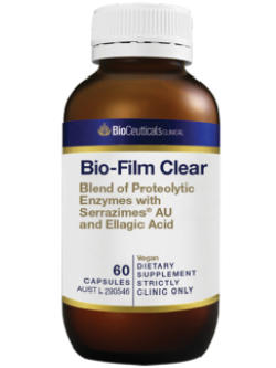 BioCeuticals Bio-Film Clear 60 capsules | Vitality and Wellness Centre