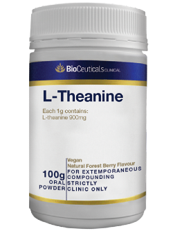 BioCeuticals L-Theanine 100g Powder | Vitality and Wellness Centre