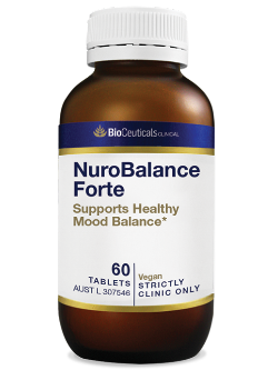 BioCeuticals NuroBalance Forte 60 Tablets | Vitality and Wellness Centre
