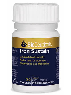 BioCeuticals Iron Sustain | Vitality And Wellness Centre