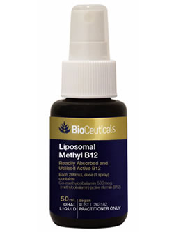 BioCeuticals Liposomal Methyl B12 | Vitality And Wellness centre