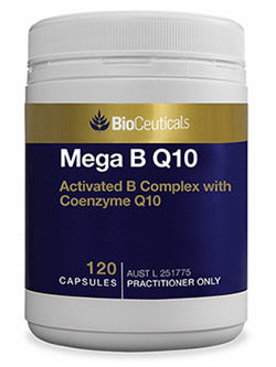BioCeuticals Mega B Q10 120 Capsules | Vitality And Wellness Centre