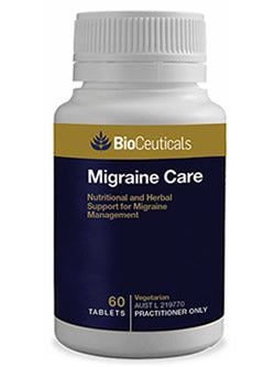 BioCeuticals Migraine Care 60 Tablets | Vitality And Wellness Centre