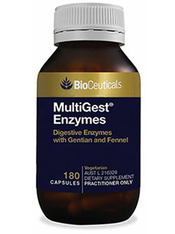 BioCeuticals MultiGest Enzymes 180 Capsules | Vitality And Wellness Centre