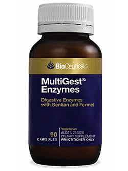 BioCeuticals MultiGest Enzymes 90 Capsules | Vitality And Wellness Centre