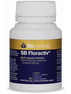 BioCeuticals SB Floractiv 60 Capsules | Vitality And Wellness Centre