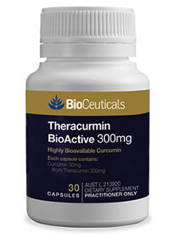 BioCeuticals Theracurmin BioActive 300mg 30 Capsules | Vitality And Wellness Centre