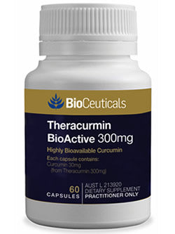 BioCeuticals Theracurmin BioActive 300mg 60 Capsules | Vitality And Wellness Centre