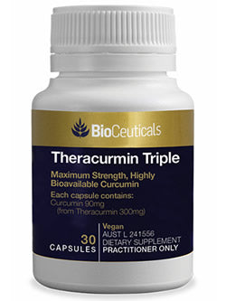 BioCeuticals Theracurmin Triple 30 Capsules | Vitality And Wellness Centre