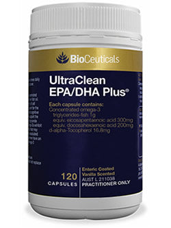 BioCeuticals UltraClean EPA/DHA Plus 120 Capsules | Vitality And Wellness Centre