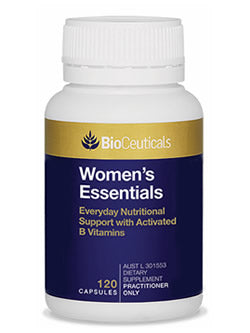 BioCeuticals Women's Essentials 120 Capsules | Vitality And Wellness Centre