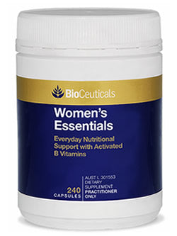 BioCeuticals Women's Essentials 240 Capsules | Vitality And Wellness Centre
